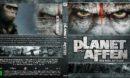 Planet der Affen: Revolution (2014) DE Custom Blu-Ray Cover