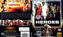 HEROES (2008) R0 SLIMLINE DVD COVER & LABEL