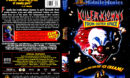 KILLER KLOWNS FROM OUTER SPACE (1988) DVD COVER & LABEL