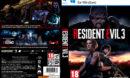Resident Evil 3 (2020) (Custom BD-ROM cover) DVD Cover