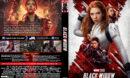 Black Widow (2021) Custom DVD Cover