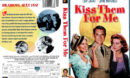 KISS THEM FOR ME (1957) DVD COVER  LABEL