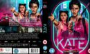 Kate (2021) Custom R2 UK Blu Ray Cover and Label