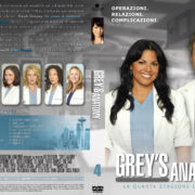 Grey's Anatomy: Season 4 (italian) – Front DVD Cover