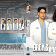 Grey's Anatomy: Season 5 (Italian) – Front DVD Cover