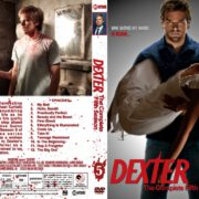 Dexter: Season 1-2-3-4-5-6 Front DVD Covers