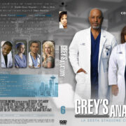 Grey's Anatomy: Season 6 (italian) – Front DVD Cover