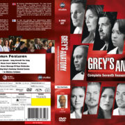 Grey's Anatomy: Season 7 – Front DVD Cover