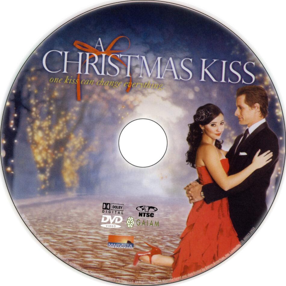 A Christmas Kiss.A Christmas Kiss Dvd Label 2011 R1 Custom Art