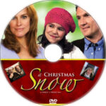 A Christmas Snow (2010) Custom DVD Label
