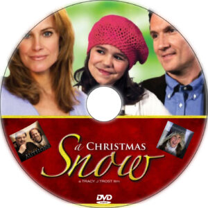 a christmas snow dvd label
