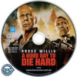 A Good Day To Die Hard (2013) R4 DVD Label