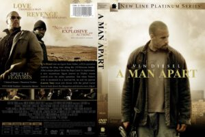 A Man Apart (2003) R1 - Movie DVD - Front DVD Cover