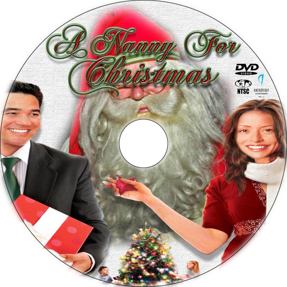 A Nanny For Christmas.A Nanny For Christmas Dvd Label 2012 R1 Custom Art