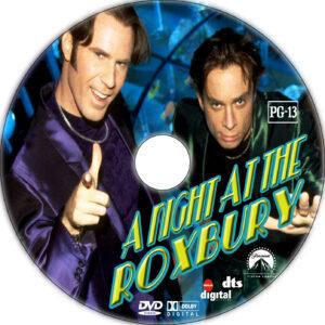 a night at the roxbury dvd label