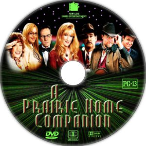 a prairie home companion dvd label