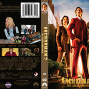 Anchorman 2: The Legend Continues (2013) R1 Custom DVD Cover
