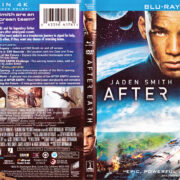 After Earth (2013) R1 Blu-Ray DVD Cover