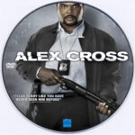 Alex Cross (2012) R0 Custom DVD Label