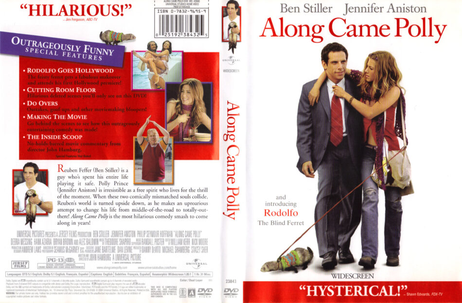 Along Came Polly 2004 R1 Movie Dvd Cd Label Dvd Cover Front Cover