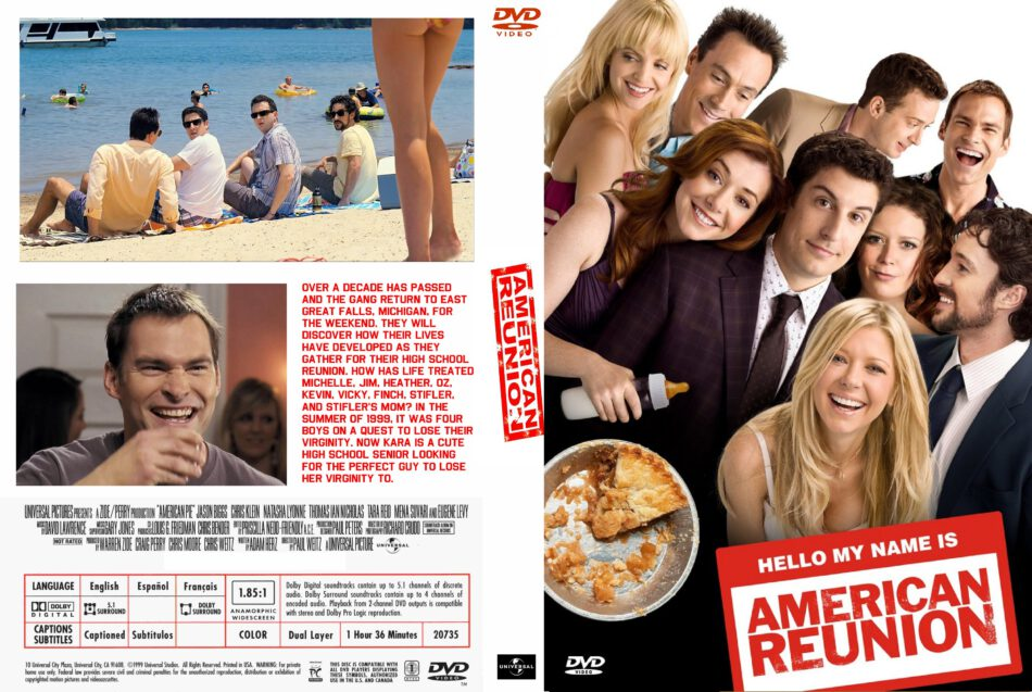 American Pie 4 Family Reunion 2012 Movie Dvd Cd Cover Dvd Cover Front Cover