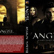 Angel: Season 1-2-3-4-5 Front SLIM DVD Covers