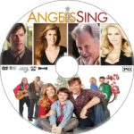 Angels Sing (2013) R1 Custom DVD Label
