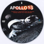 Apollo 18 (2011) R0 Custom DVD Label