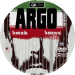 Argo (2012) R0 Custom Blu-Ray/DVD Labels
