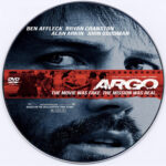 Argo (2012) R0 Custom DVD Label