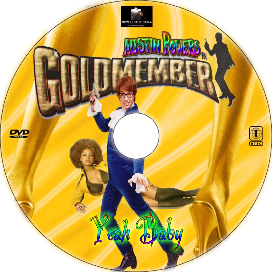 Austin Powers In Goldmember Cd Cover 2002 R1 Custom Art