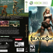 Blades of time – Front DVD Cover