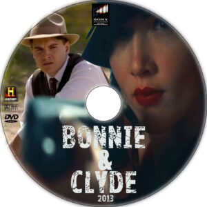 bonnie & clyde dvd label