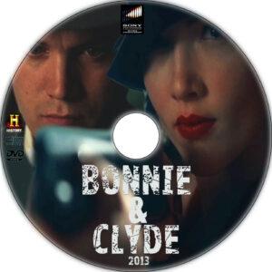 bonnie & clyde 2013 dvd label