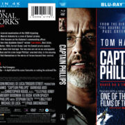 Captain Phillips (2013) R1 Blu-Ray DVD Cover
