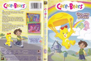 Care Bears Ups and Downs dvd cover