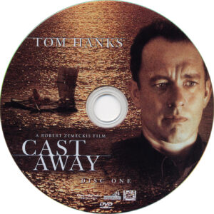 Cast Away (2000) SE R1 - Movie DVD - CD Label, DVD Cover ...
