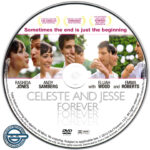 Celeste & Jesse Forever (2012) R0 Custom DVD Label