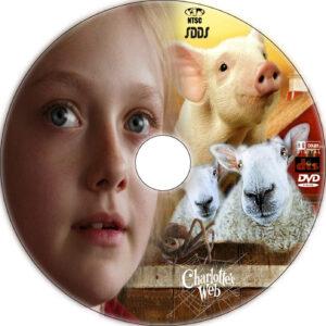 charlotte's web dvd label