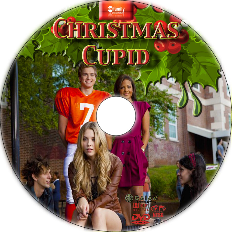 Christmas Cupid.Christmas Cupid Dvd Labels 2010 R1 Custom Art
