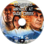 Christmas Miracle at Sage Creek (2005) Custom DVD Label