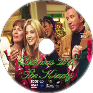 christmas with the kranks dvd label