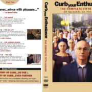 Curb your Enthusiasm: Season 1-2-3-4-5 DVD Front Covers