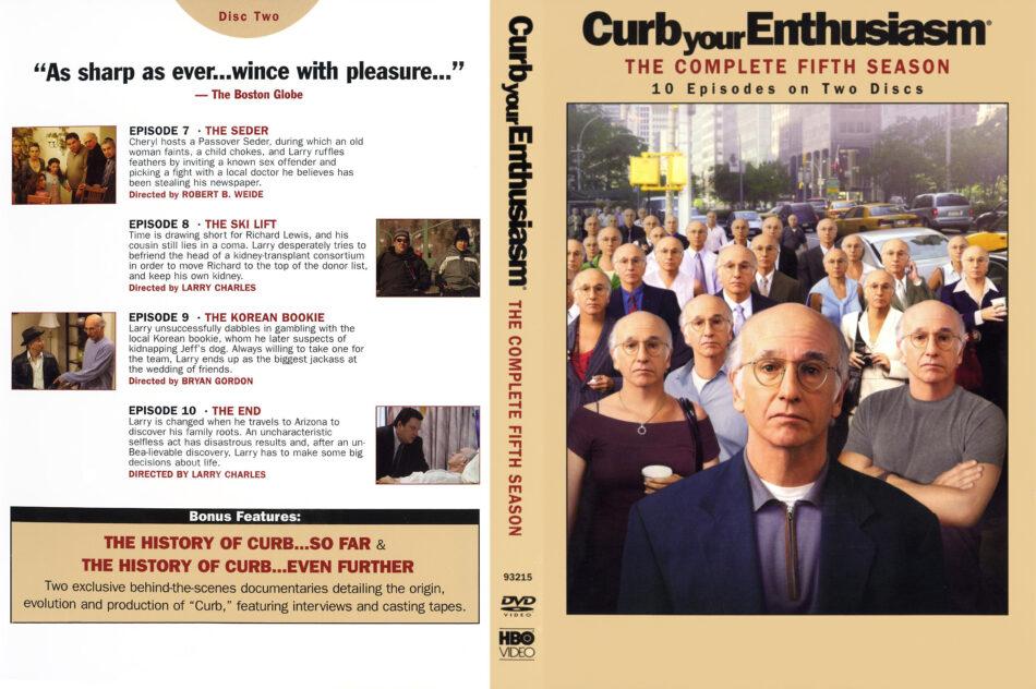 Curb your Enthusiasm: Season 1-2-3-4-5 - TV Series - DVD