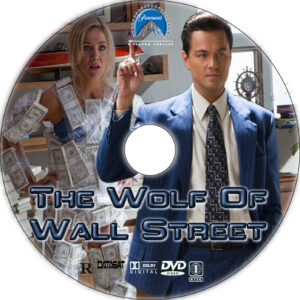 the wolf of wall street cd cover