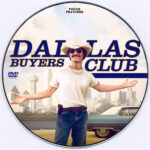 Dallas Buyers Club (2013) Custom CD Cover