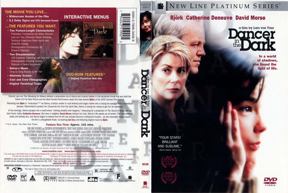 Dancer In The Dark 2000 Ws R1 Movie Dvd Cd Label Dvd Cover Front Cover