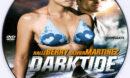 Dark Tide (2012) R0 Custom DVD Label