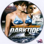 Dark Tide (2012) R0 Custom DVD Label