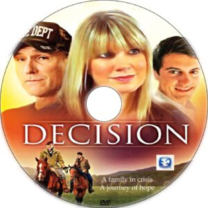 decision dvd label